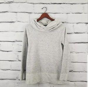 Lou & Grey Gray Turtleneck Sweatshirt  Top